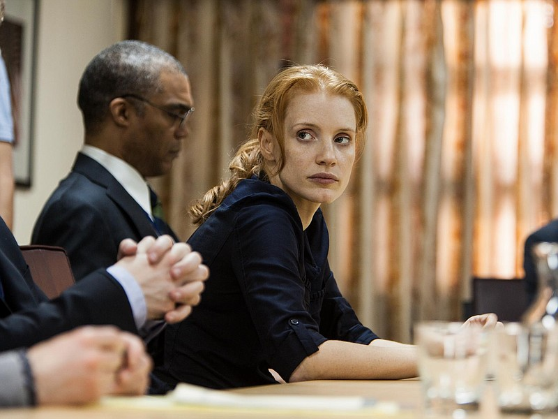Jessica Chastain as CIA agent Maya in