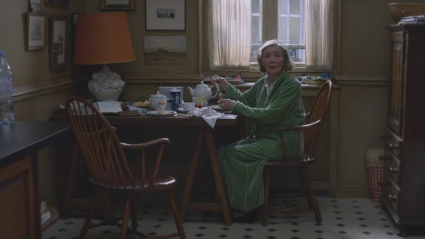 "Emmanuelle Riva stars as Anne and received an Oscar nomination for her performance in ""Amour."""