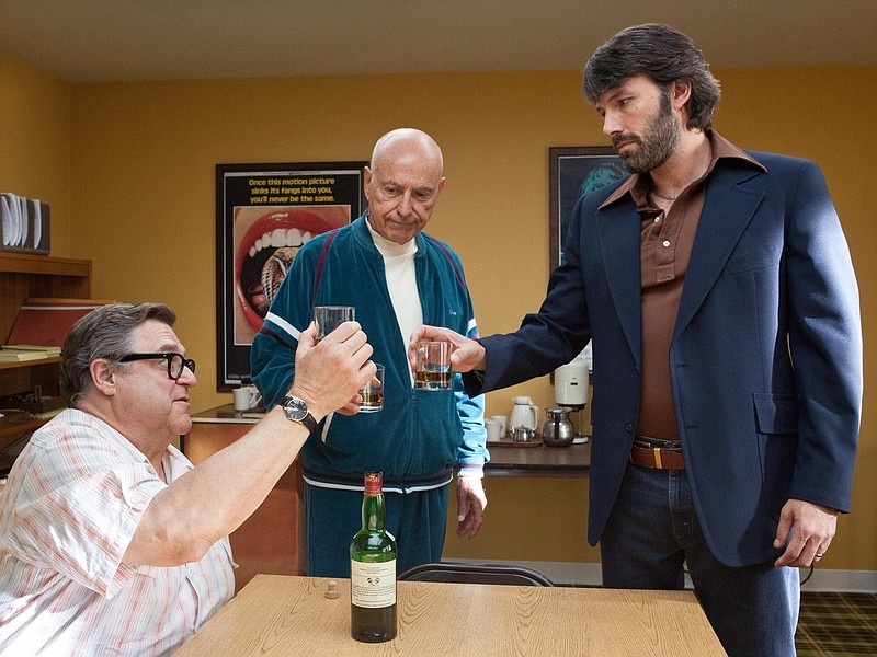 John Goodman, Alan Arkin, and Ben Affleck in