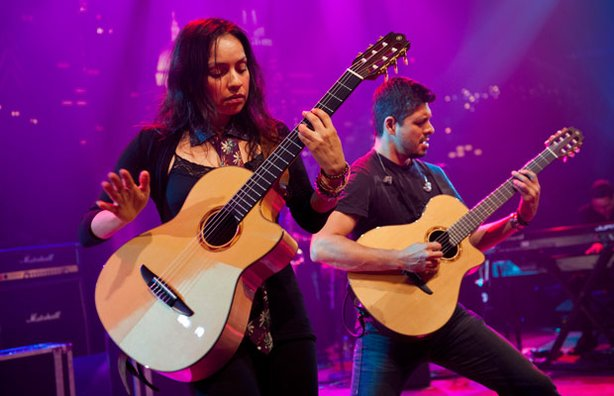 Famed Mexican guitar duo Rodrigo y Gabriela performs a unique fusion of flamenco, jazz and rock on AUSTIN CITY LIMITS.