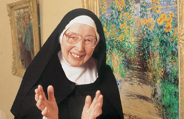 "Sister Wendy Beckett (pictured), the world-famous ""art nun,"" explores the Nor..."