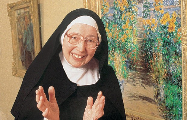 """Sister Wendy Beckett (pictured), the world-famous """"art nun,"""" explores the Nor..."""
