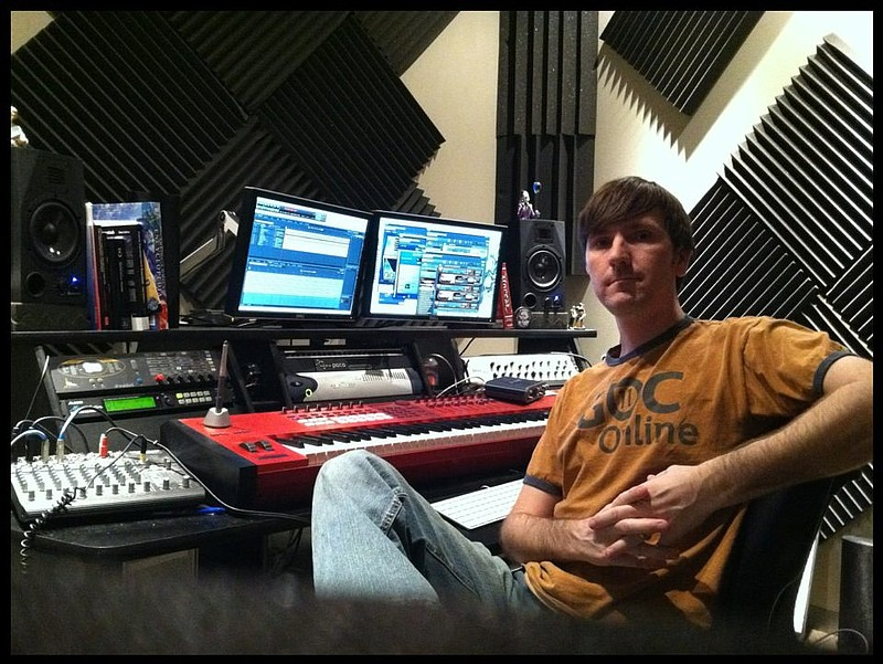 Audio artist Chad Mossholder, who graduated from SDSU and is one of the artis...