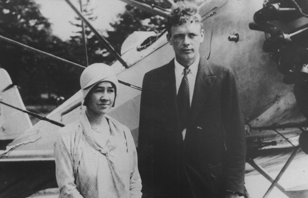 Charles and Anne Lindbergh. NOVA reopens one of the most confounding crime my...