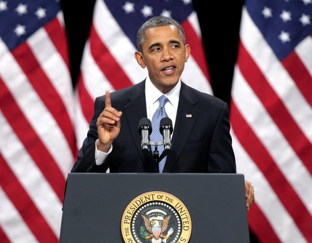 President Obama Delivers Address On Immigration Reform.