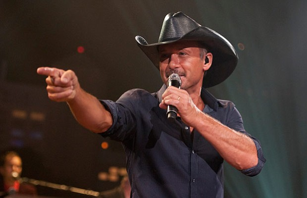 Country superstar Tim McGraw takes the AUSTIN CITY LIMITS stage with his grea...