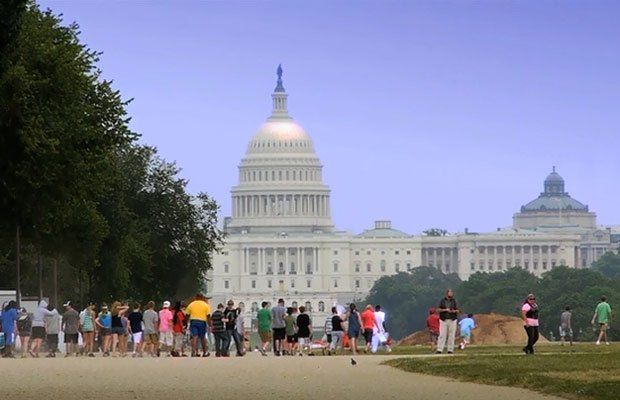 Exterior photo of the U.S. Capitol Building