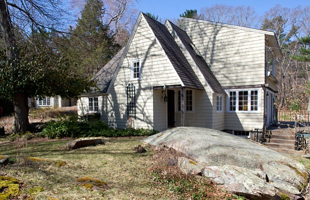 "This modest 1935 ""Hansel-and-Gretel"" style cottage in Essex has been neglecte..."