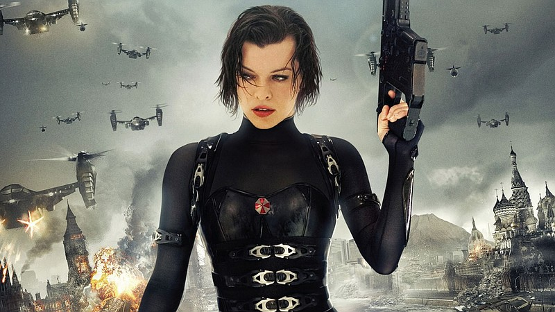 Milla Jovovich starred in the latest