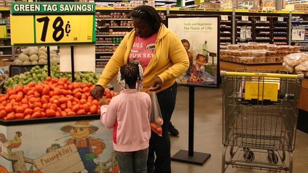 City Heights mother Latonya Frazier has started substituting healthier ingred...