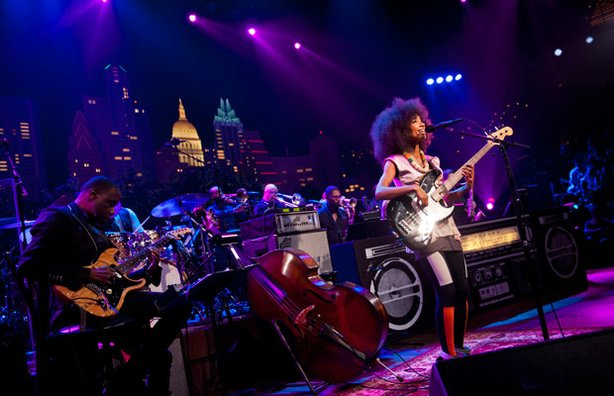 """AUSTIN CITY LIMITS presents an hour with jazz/soul singer/bassist Esperanza Spalding in support of her LP """"Radio Music Society."""""""