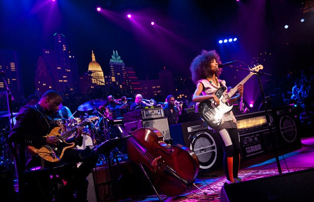 AUSTIN CITY LIMITS presents an hour with jazz/soul singer/bassist Esperanza S...