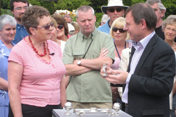 Alastair Dickenson examines a silver inkstand that might have been a gift to ...