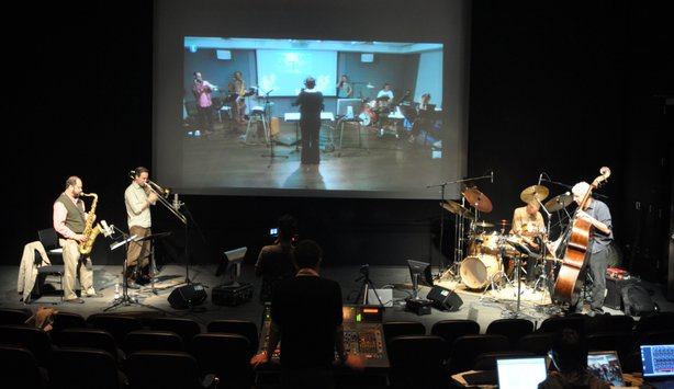 One of the virtual concerts performed by musicians/composers/improvisors at U...