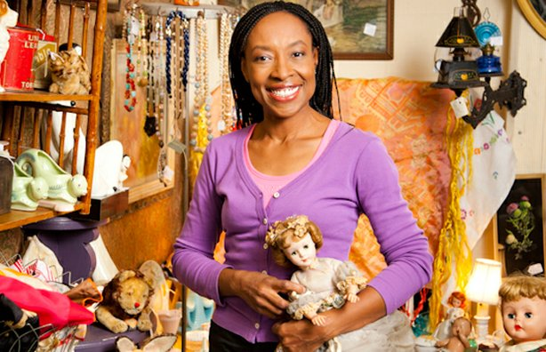 "MARKET WARRIORS picker Benedicta ""Bene"" Raia in her element with children's antiques and collectibles."
