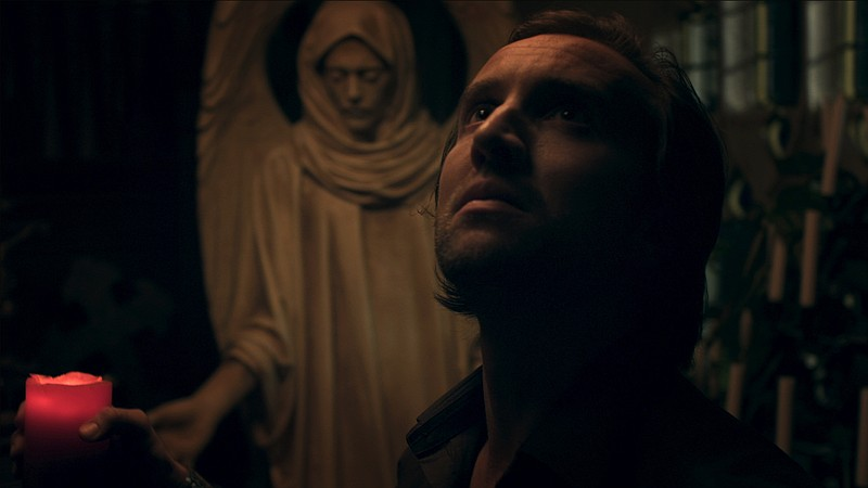 Aaron Poole stars as Leon, a man returning to his dead mother's home in