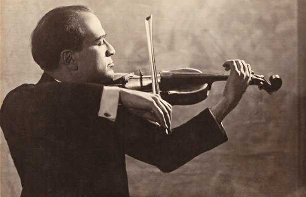 Polish violinist Bronislaw Huberman (1882-1947) who — with courage, resourcefulness, and an entourage of allies including Arturo Toscanini and Albert Einstein — bravely stood up to racial intolerance, ultimately saving almost 1,000 Jews from 1933–1936 while forming the Palestine Symphony Orchestra.