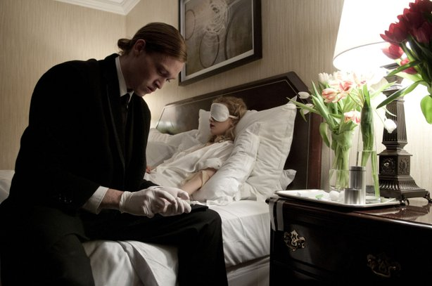 "Brandon Cronenberg's ""Antiviral"" reveals the influence of his father David but with a style all his own."