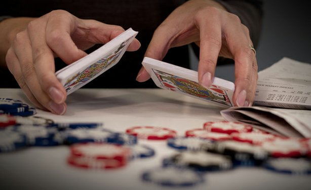 "Gambling with chips and a deck of cards. Whether your IRA or 401K will assure a safe retirement is largely a gamble. Building off reporting from the groundbreaking special ""Money, Power and Wall Street,"" FRONTLINE's ""The Retirement Gamble"" raises troubling questions about how America's financial institutions protect our savings."