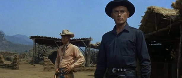 """Steve McQueen and Yul Brynner star in """"The Magnificent 7,"""" a successful remak..."""