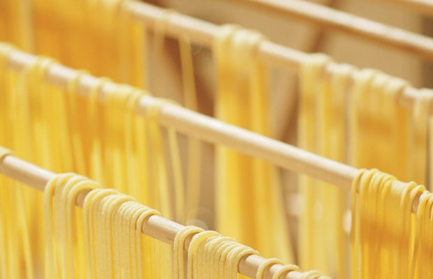 Fresh pasta. Learn how to make pasta dough and then form it into strands by h...