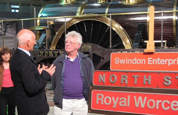 Paul Atterbury is delighted to see a collection of Diesel locomotive signs.