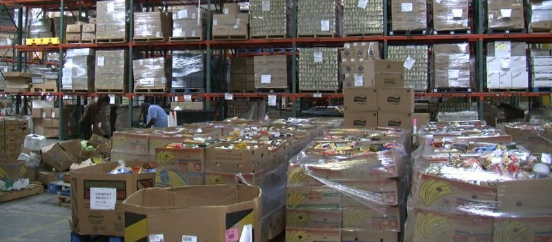 The San Diego Food Bank distributed nearly 18 million pounds of food in fisca...