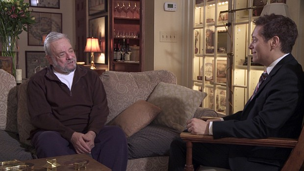 Composer and lyricist Stephen Sondheim and Michael Feinstein talk shop about ...