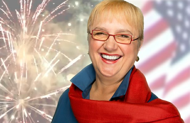 Host and chef Lidia Bastianich celebrates independence and freedom with diffe...