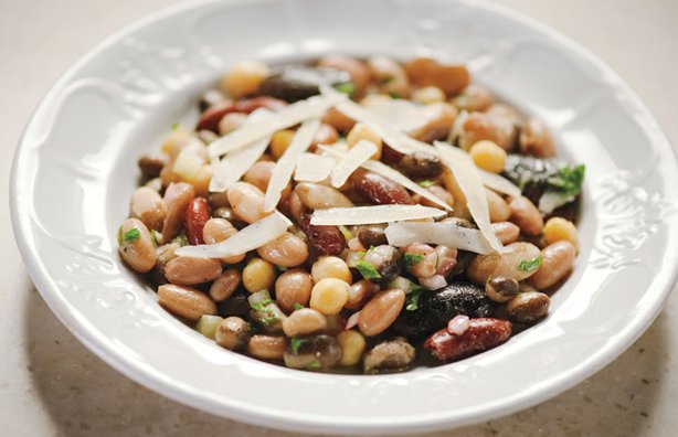 "Martha Stewart's Seven Bean Salad from the ""Legumes"" episode. Martha sheds li..."