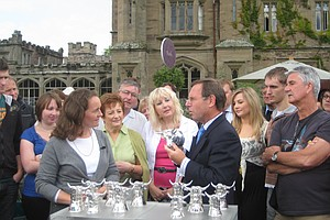 ANTIQUES ROADSHOW: Hampton Court Castle 2