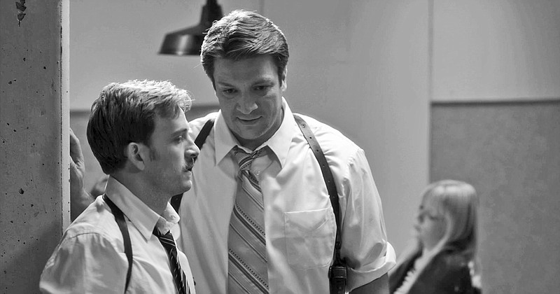Tom Lenk and Nathan Fillian star as inept officers in Joss Whedon's adaptatio...