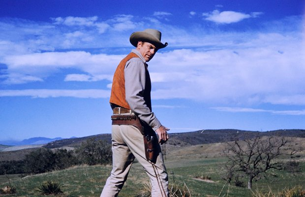 James Arness as Marshal Matt Dillon on