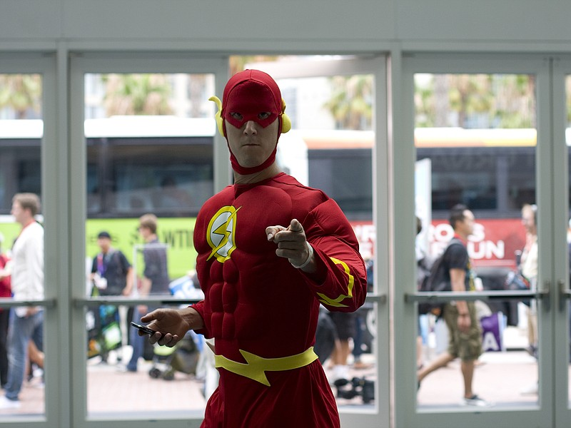 2013's Comic-Con International is underway at San Diego's Convention Center.