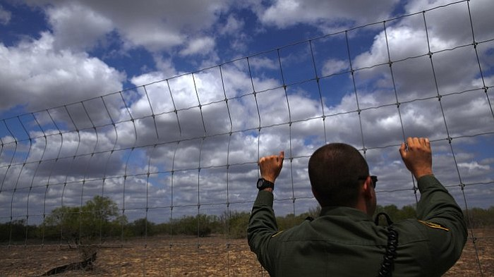 The Senate immigration bill would double the number of Border Patrol agents.
