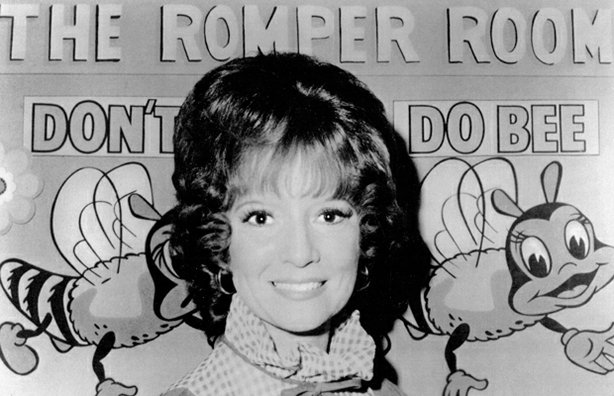 "Mary Ann King (Miss Mary Ann) on the Los Angeles version of ""Romper Room."""