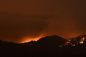 Southern California Wildfire Grows Overnight