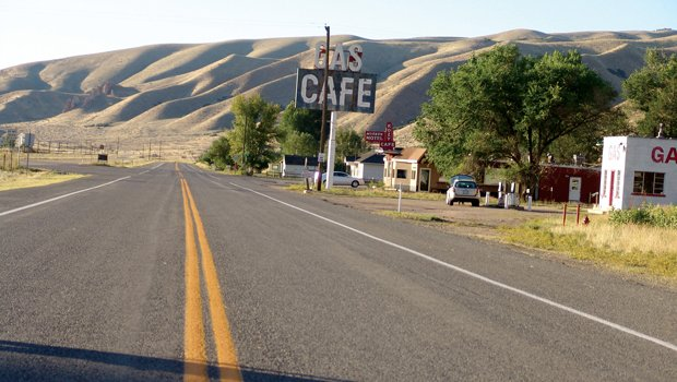 Sometimes the Lincoln Highway itself (pictured) is just a beautiful site as i...