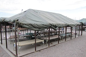 Phoenix Sheriff's Tent City Jail Turns 20