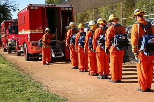 San Diego County To Send 50 More Inmates To Fire Camps