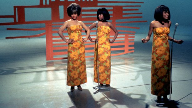 "The legendary Supremes perform a medley of their greatest hits, including ""I ..."