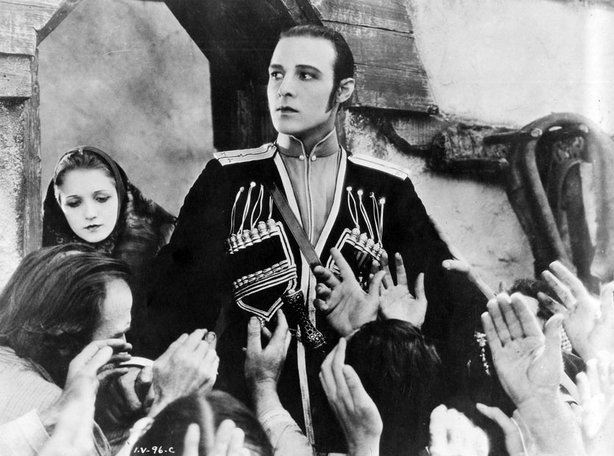 "Rudolph Valentino stars in ""The Eagle,"" screening August 19 at the Silent Mov..."