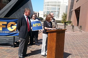 Union Leaders, Congressional Reps Say Sequestration's Tim...