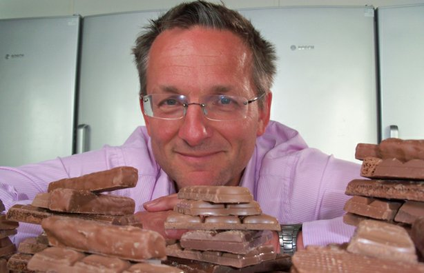 Presenter Michael Mosley eats as much chocolate as he can to explore the moment when  pleasure turns to revulsion.