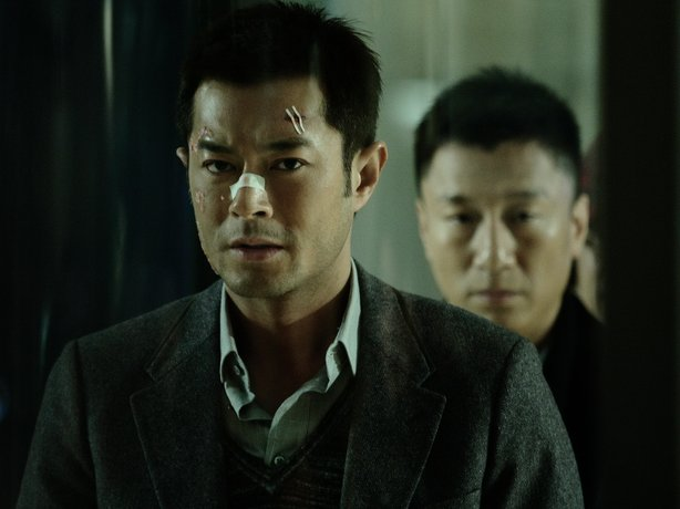 "Louis Koo is a criminal and Sun Honglei is a cop in the procedural thriller, ""Drug War."""