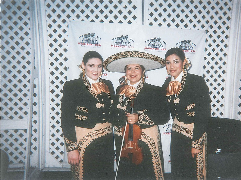 Leonor Perez (center) at a performance of Mariachi Mujer 2000 at the Hollywoo...