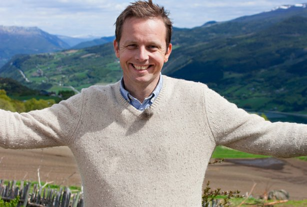 Award-winning TV host, food journalist and cookbook author Andreas Viestad re...