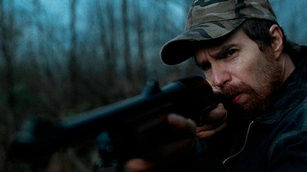 "Sam Rockwell stars as John Moon in ""A Single Shot."""