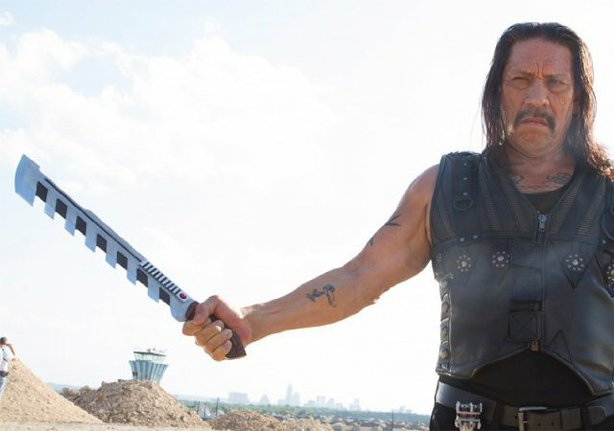 "Danny Trejo returns for another round as the lethal Machete in ""Machete Kills."""