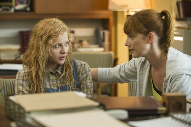 "Chloe Grace Moretz and Judy Greeer star in the remake of ""Carrie."""